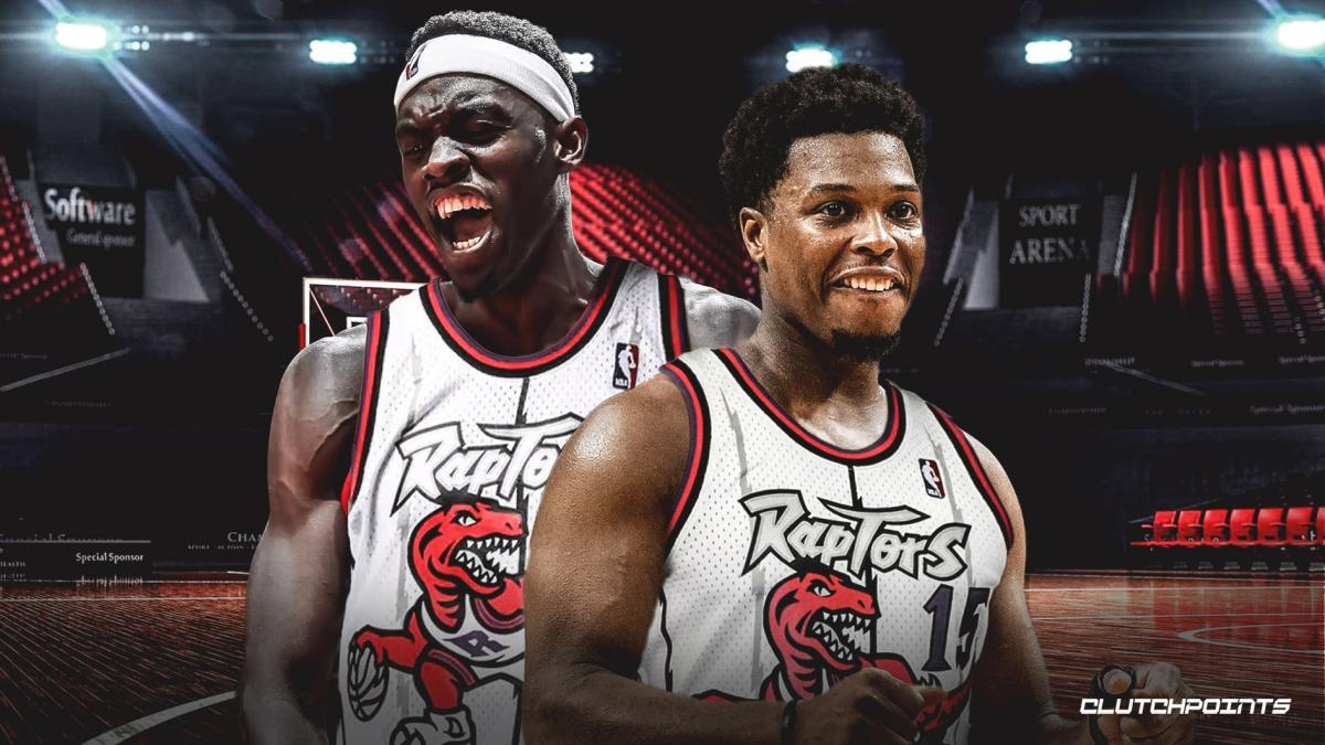official photos 71b9d 68a01 The Raptors are bringing back the classic white dino jerseys