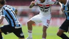 São Paulo empata com Grêmio e assume terceira posição no Brasileirão