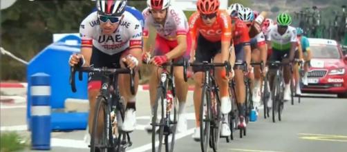 I fuggitivi nell'ottava tappa della Vuelta Espana