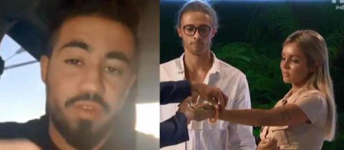 La bataille des couples 2 : Oussama explique enfin pourquoi il a trahi Dylan et Fidji à la cérémonie d'élimination.
