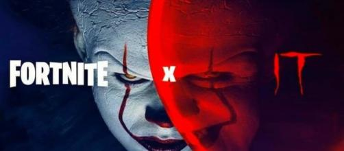 New leaked files tease Fortnite and IT crossover. [image credits ITMOVIE/YouTube screenshot]