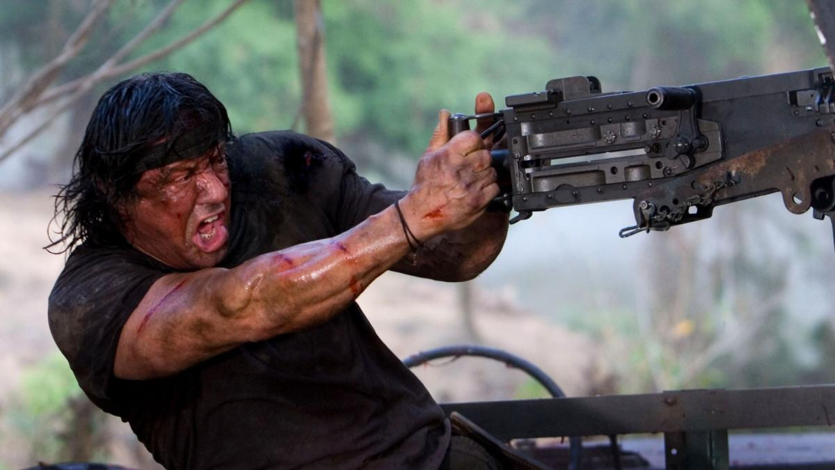 Sylvester Stallone appears as John Rambo in 'Last Blood