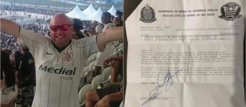 Rogerio Lemes Coelho usou as redes sociais para relatar o caso. (Reprodução/Facebook/@rogeriolemescoelho)