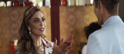 Maria da Paz perdoa Régis e ele se apaixona por ela. (Reprodução/ TV Globo)