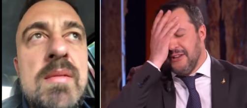 Chef Rubio non è un estimatore di Matteo Salvini.