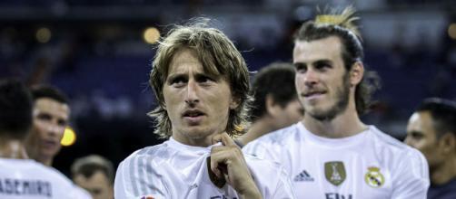 Cristiano Ronaldo, Gareth Bale and Luka Modric