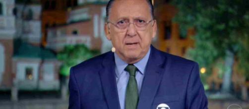 Galvão ficou desconcertado com comentário de Eric. (Reprodução/Rede Globo)