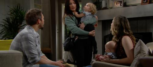 How will Steffy take the news when she hears the truth? [Image Source: CBS/YouTube]