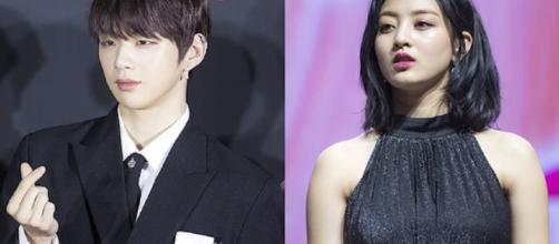 Kang Daniel, Jihyo officially a couple, TWICE star's relationship rocks K-Pop world. [Image Source: Korea Crush/YouTube]