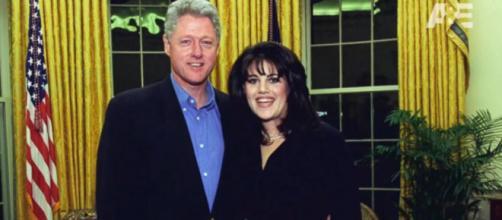 Bill Clinton e Monica Lewinsky, protagonisti del 'Sexgate'