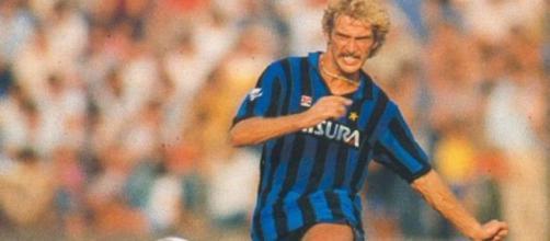 Ludo Coeck, primo belga nella storia dell'Inter nella stagione 1983/84