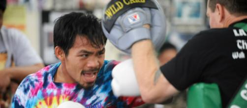 Manny Pacquiao at lightweight will revitalize boxing. [image credit: Dan Johanson/Flickr]