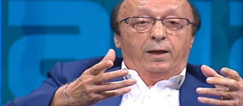 Moggi:' Scudetto 2006 all'Inter va tolto, ridarebbe credibilità al calcio'