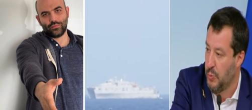 Roberto Saviano attacca ancora Salvini sulla questione Ong