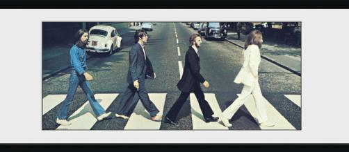 The Beatles in Abbey Road nel 1969