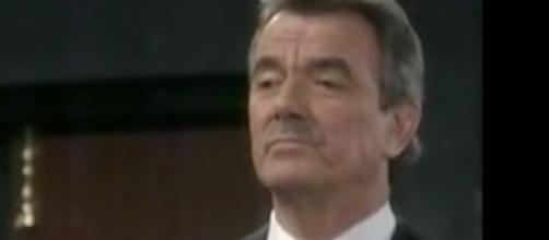 Victor will side with Nick over Adam in custody case. [Image Source: Y&R/YouTube]