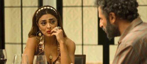 Adão deixará Maria da Paz perplexa com alerta sobre Josiane (Reprodução/Tv Globo)