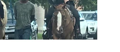 """La foto de la """"vergüenza"""" en Texas y que recuerda a la esclavitud"""