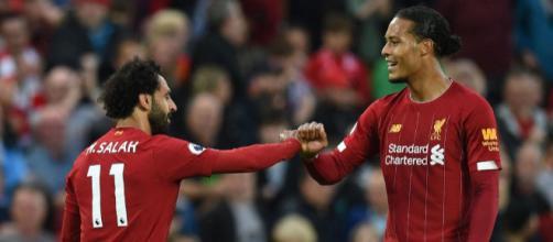 Salah deixou sua marca na estreia. (Arquivo Blasting News)