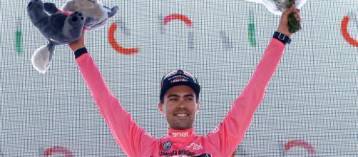 Tom Dumoulin, vincitore del Giro d'Italia 2017