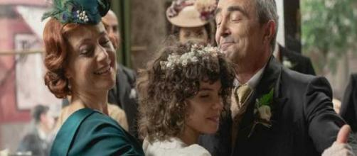 Una Vita, trame spagnole: Ramon e Carmen diventano marito e moglie