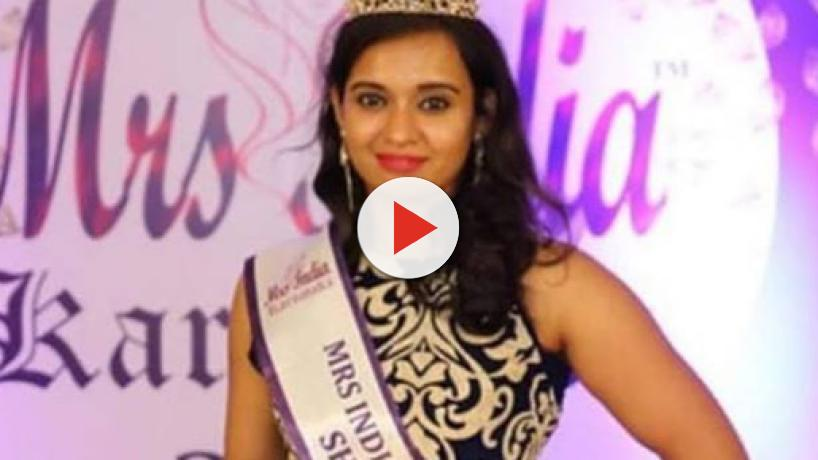 32 year old beauty queen commits suicide along with her 7-year-old daughter in Bangalore