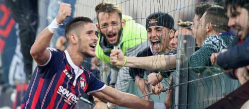 Diego Falcinelli, attaccante in uscita dal Bologna
