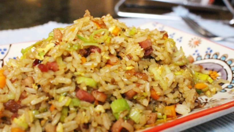 Arroz frito, una delicia de la gastronomía china
