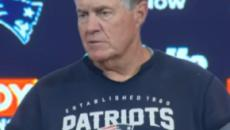 Bill Belichick happy to have Brown on his side, hopes he delivers like Randy Moss