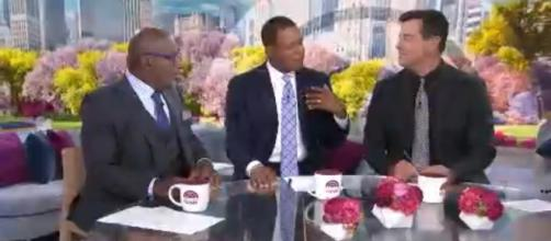 Al Roker, Craig Melvin, and Carson Daly convene on 'Today' about the signs of getting older. [Image source:TODAY-YouTube]