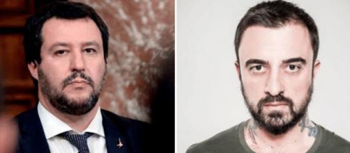 Chef Rubio attacca i manifestanti pro Salvini e fa arrabbiare la polizia