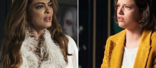 Fabiana vai se tornar a nova inimiga de Maria da Paz. (Repdorução/ TV Globo)