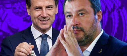 Fiducia a Conte, Salvini: 'Governo senza dignità', la Borgonzoni con maglietta su Bibbiano