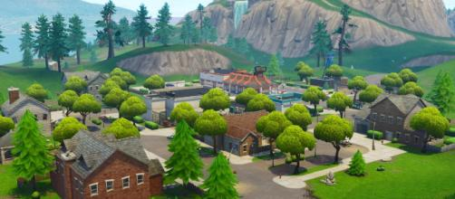 Greasy Grove is coming back to 'Fortnite.' Credit: In-game screenshot