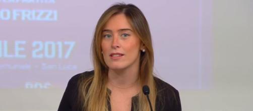 Maria Elena Boschi secondo Il Fatto Quotidiano non ha accolto con grande entusiasmo il discorso di Giuseppe Conte.