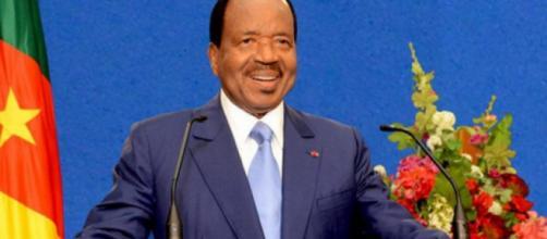 Paul Biya, président de la république du Cameroun