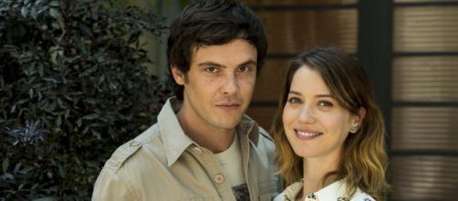 Sergio Guizé e Nathalia Dill se evitam nos bastidores da Globo. ( Arquivo Blasting News)
