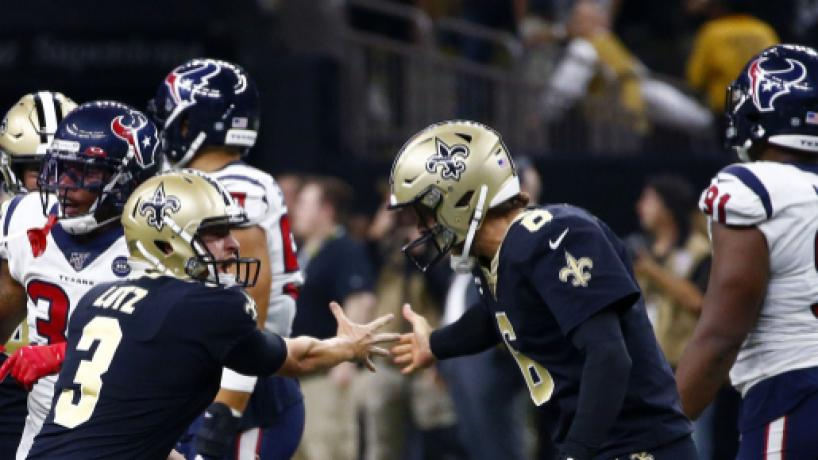 NFL Semana 1: Saints vencieron por 30-28 a los Texans en un partido de locura