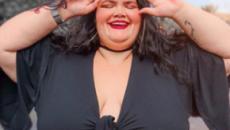 Com 145 kg, Thais Carla exibe barriga da 2ª gravidez: 'nunca imaginei que fosse possível'