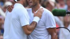 Nadal: 'Federer in competizione contro se stesso, sebbene sia il migliore di sempre'