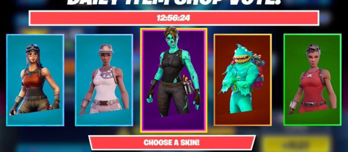 Fortnite Battle Royale How To Vote For Skins In The Item Shop Check here daily to see the updated item shop. fortnite battle royale how to vote