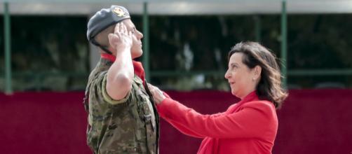 El soldado Richard Ríos es condecorado por su valor demostrado en Kuolikoro