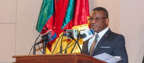 Le Premier Ministre Chef du Gouvernement Joseph Dion Ngute (c) PRC