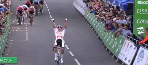 Mathieu Van der Poel, la vittoria al Tour of Britain