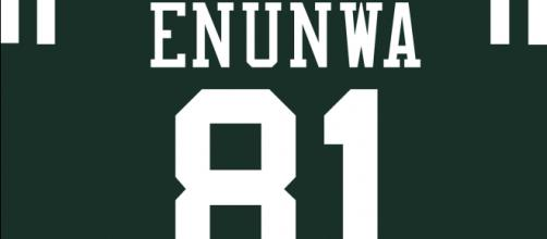 Quincy Enunwa suffered a season-ending neck injury. [Image Source: Flickr | Justin Rocke]