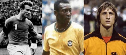 Valentino Mazzola, Pelè e Johan Cruyff, tra le stelle della simulazione di calcio vintage di un gruppo di amatori su Facebook
