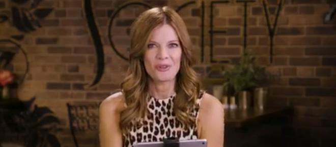 Wednesday on 'Y&R,' Phyllis records Zoe confessing to drugging the drinks
