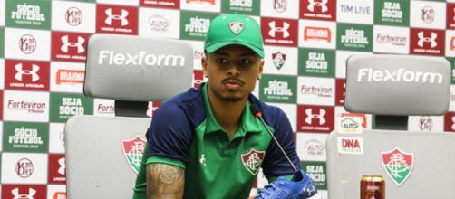 Allan pode desfalcar o Flu em Brasília. (Reprodução/Lucas Merçon/Fluminense FC)