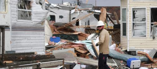 """El """"catastrófico"""" huracán Dorian destruyó miles de casas en Las Bahamas. - infobae.com"""