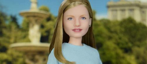 La princesa Leonor y su polémica muñeca